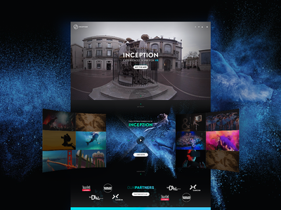 VR Home page