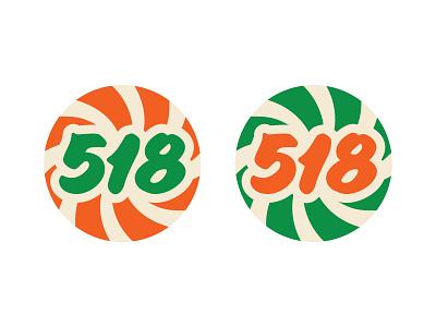 518 typographic button vintage type typography