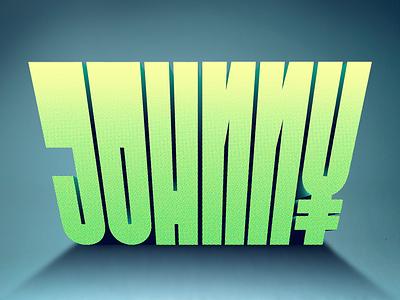 Johnny sundayburo johnny lettering typography yen yuan china movie poster vintage dot pattern half tone
