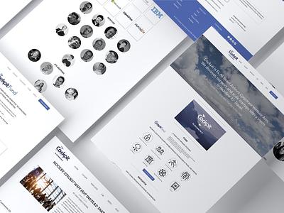 Cockpit - Web Design identity typography icon clean ui ux vector illustration design branding