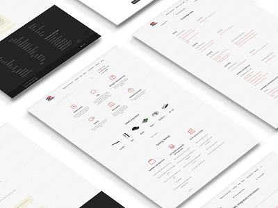 Phoenix Audio - Portal Development developement web ux ui vector illustration design
