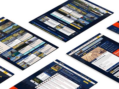 Line and Sight - Web Design and Development graphic design logo brand illustrator clean website animation identity developement web typography icon ux ui branding vector illustration design