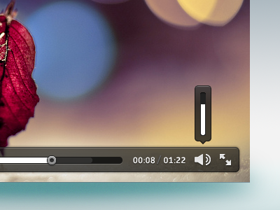 Video Player Detail gray ui video player hud popup icon