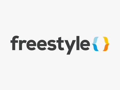 Freestyle logo & landing page logo type branding