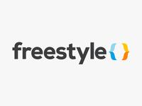 Freestyle logo & landing page
