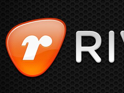 RM Logo wip logo orange gray ziggurat