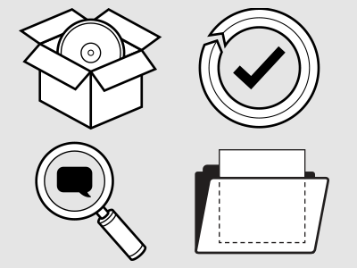 Vector Icons icon lineart simple pictogram