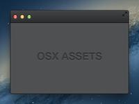 OSX Assets (Dark)