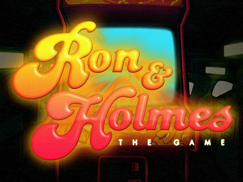 Ron & Holmes - The Game flash retro sex design funny videogame