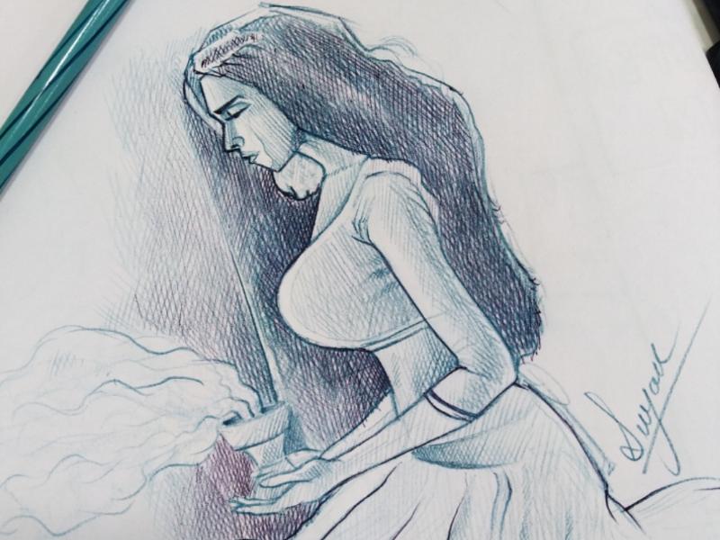 Sketch sketch illustration character