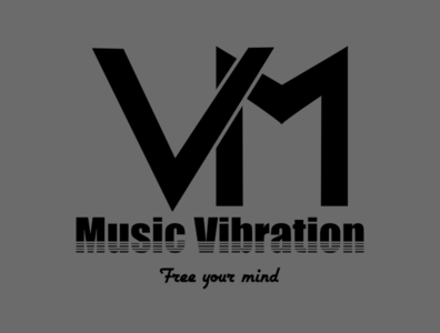 Monogram Music vibration logo