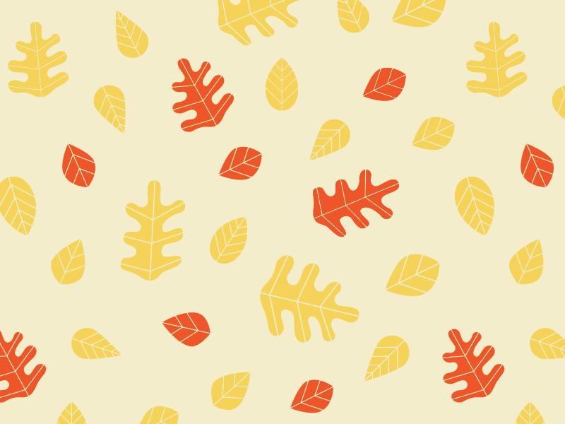 Leaves texture pattern leaves fall illustration