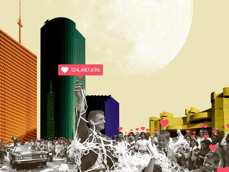 untitled-57 magazine cover magazine parade houston apollo space social media likes illustration collage