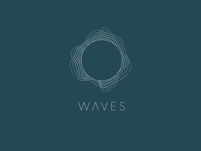 WAVES web vector design minimal logo ui