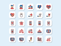 Love and Marriage Icon pack