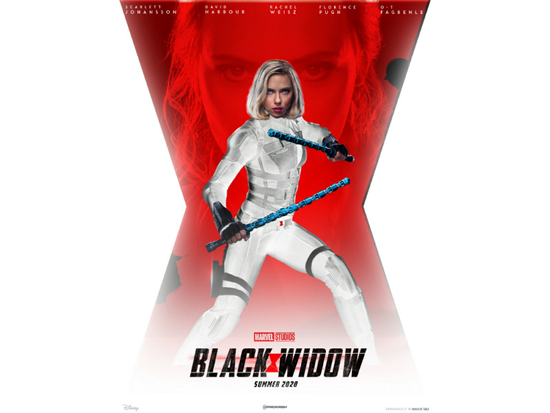black widow poster by sathishkumar a on
