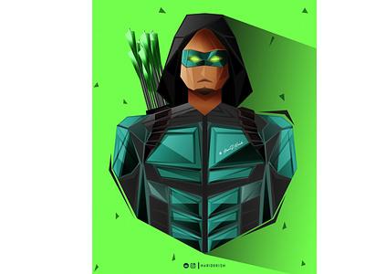 Arrow comics hero men character weapon gun arrow