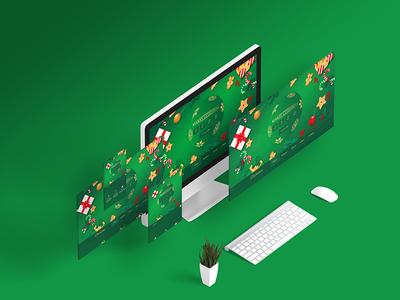 Christmas Landing Page Design