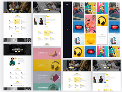 Creative portfolio Theme Design
