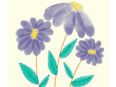 Easy Watercolor florals in Procreate | iPad Art