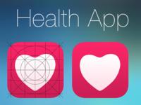 iOS 8 Health App Icon Concept