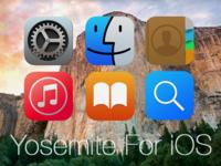 Yoesmite icons for iOS