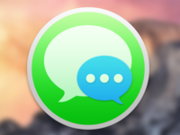 Messages Icon Concept For Yosemite