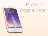 iPhone 6 Bigger is Better