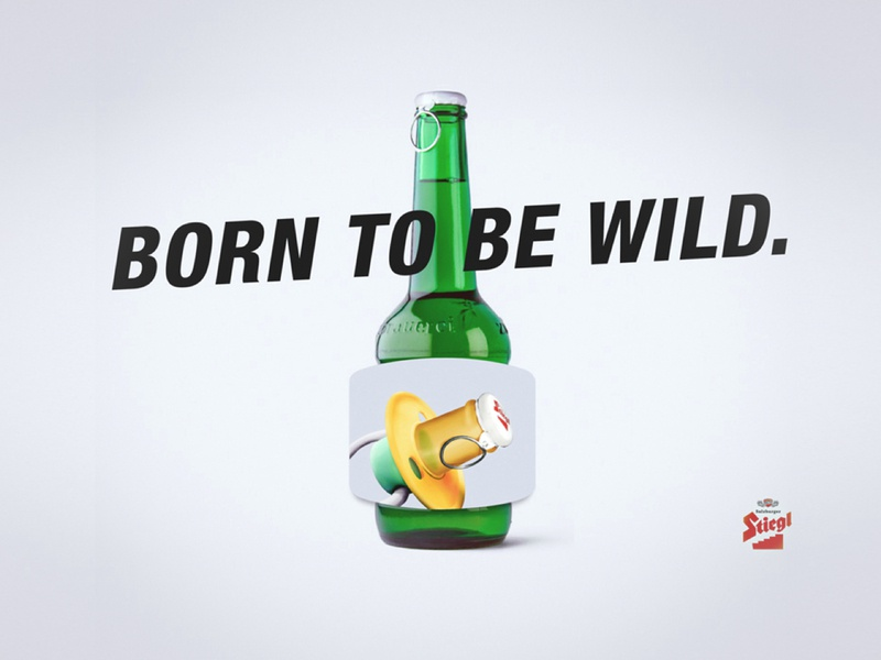 Born To Be Wild illustration leonielawniczak idea concept campaign brand art direction photoshop online design advertising ad