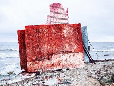 Splash Of Color (Photography) sea leonie lawniczak austria concrete architecture landscape idea look art direction art design photoshop photo editing photography