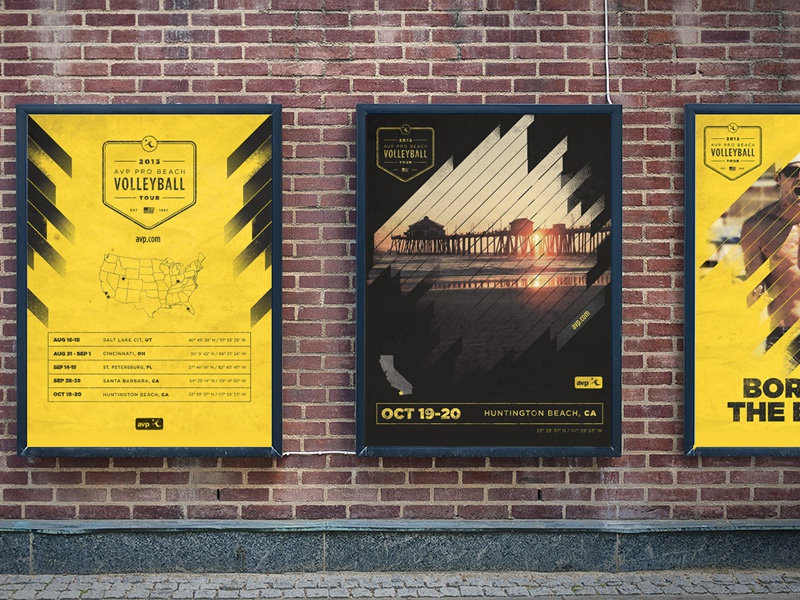 Avp poster wall