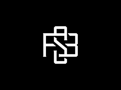 Future State Brands monogram monogram logo state future icon cannabis monogram identity logo