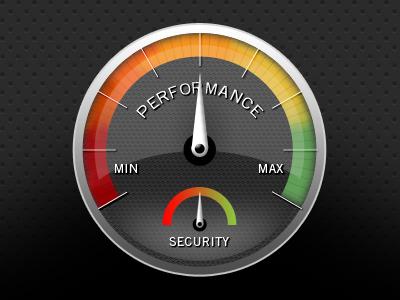 Speedometer icon speedometer
