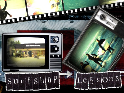 Surf Shop Web Design web design navigation
