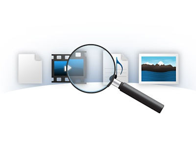Find Files icons search