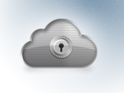 Cloud Secure icon cloud safe secure