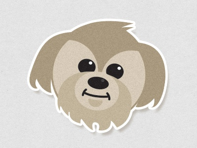 Mascot mascot dog cartoon illustration