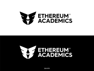 Ethereum Academics Logo (B/W)