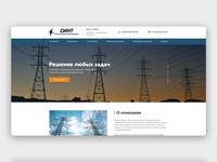 Design for a corporate website