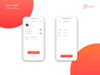 Daily UI - #007 - Profile Page Settings