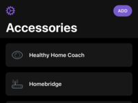 HomePass - Dark Mode