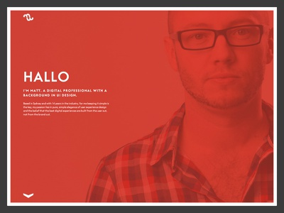 New Personal Site personal portfolio single page