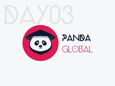 Panda Logo dailylogochallenge
