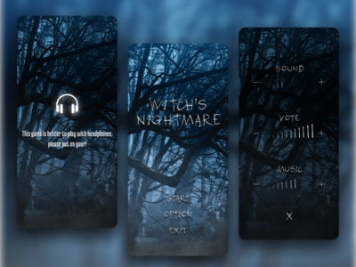 """Horror game mobile """"Witchs Hightmare"""""""