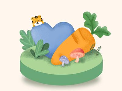 carrot land