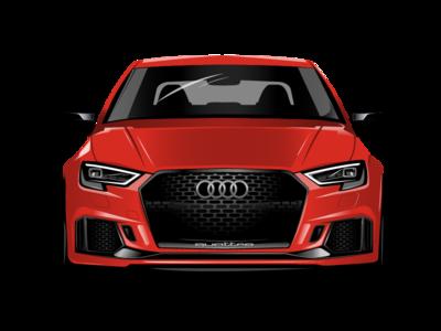 #1 Shoot Vector graphics  Audi Quattro