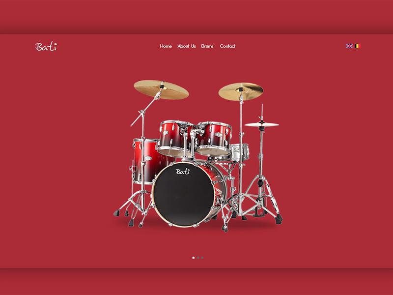 Music - Website or Landing Page wordpress bootstrap desktop html front-end development mobile responsive css landing page webdesign website music app music