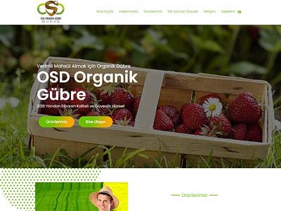 Osd Organik Gubre elementor wordpress front-end development website mobile responsive