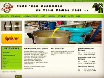 Gunvar Olive Oil's Business Web Site