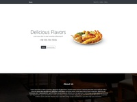 Resto - For the Restaurant's Web/Landing Page